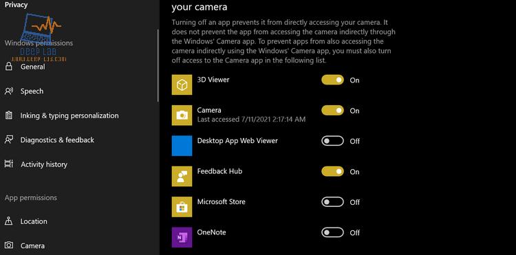 كيفية تشغيل الكاميرا في نظام التشغيل Windows 10