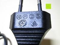 Beschritung am Stecker: kwmobile Universal Notebook Ladegerät Netzteil 90W und USB Anschluss, Adapter für Acer, Asus, Lenovo, Liteon, Samsung, Sony, Toshiba und weiteren