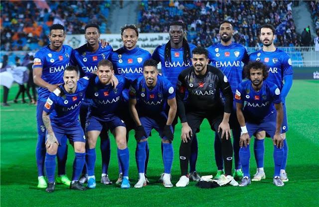مشاهدة مباراة الهلال وشباب أهلي دبي بث مباشر