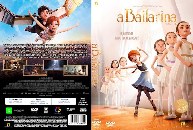 Capa DVD A Bailarina [Custom]