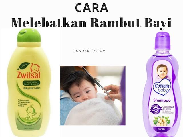 Cara Agar Rambut Bayi Tumbuh Lebat dan Lurus