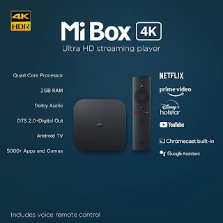 MI Android TV Box Launched in India
