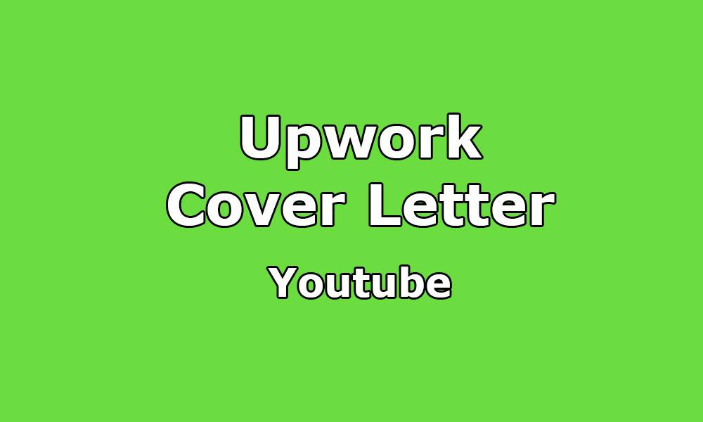 Cover Letter Sample For YouTube / Video Marketing