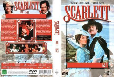 Carátula dvd: Scarlett-Escarlata(Miniserie de TV) (1994) Lo que el viento se llevó II