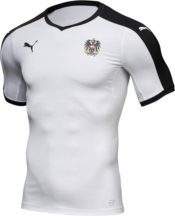 62c8e899832ea Puma apresenta nova camisa reserva da Áustria - Show de Camisas