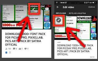 Cara Menambahkan/Mengganti Thumbnail Video YouTube Dengan HP Android