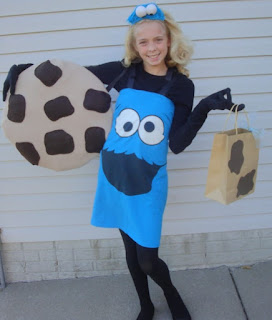 halloween costume costumes idea cookie monster
