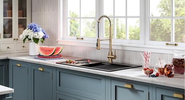 Kitchen sink by Kraus