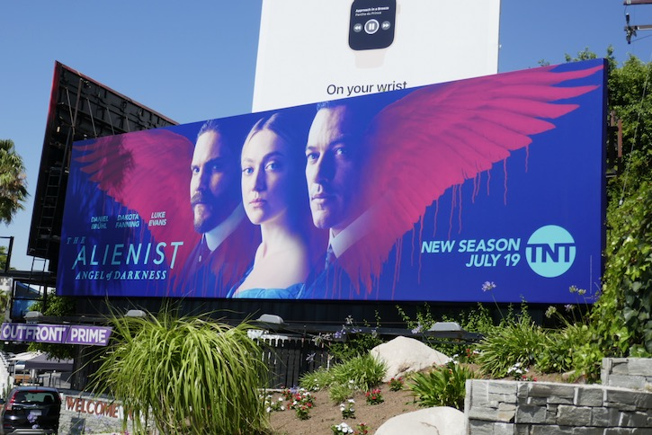 Alienist Angel of Darkness premiere billboard
