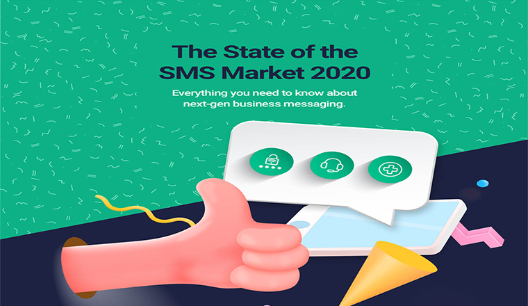 The State of the SMS Market in 2020 and Beyond #infographic