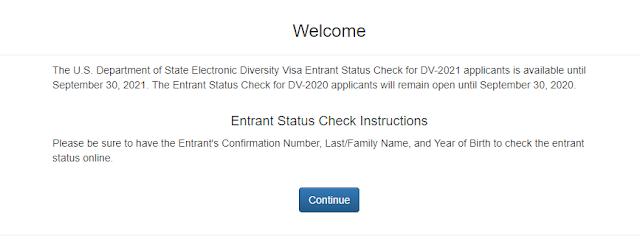 edv entrance check online