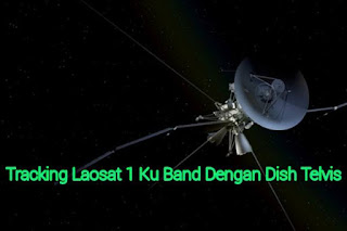 Cara tracking Laosat 1 Ku Band