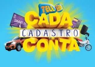 Cadastrar Promoção Cada Cadastro Conta Tele Sena 2020 - Concorra Prêmios