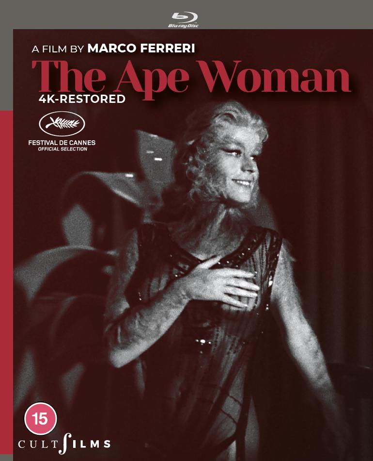 the ape woman bluray