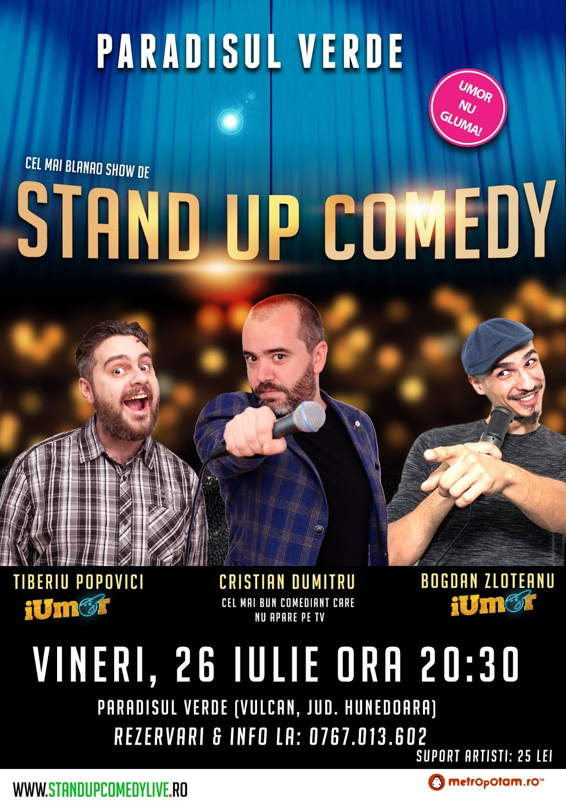 Stand-Up Coemdy 2019 Vulcan