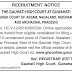 Gauhati High Court (GHC) Electrical Assistant Recruitment - August, 2016