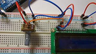 conexion del potenciometro en arduino
