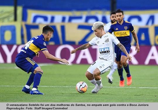 www.seuguara.com.br/Soteldo/Santos/Copa Libertadores 2020/