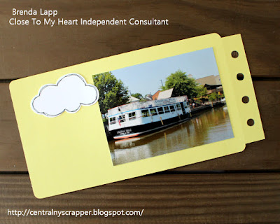 Happiest Place Blog Hop - Mini Album Page 2