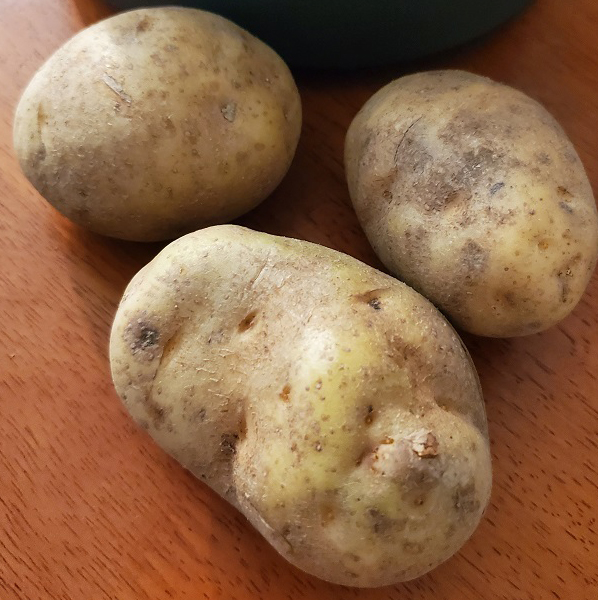 these are russet raw potatoes