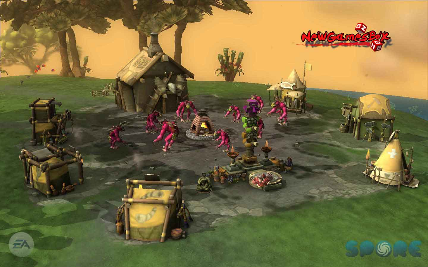 A Game For Free : Spore pc game free download