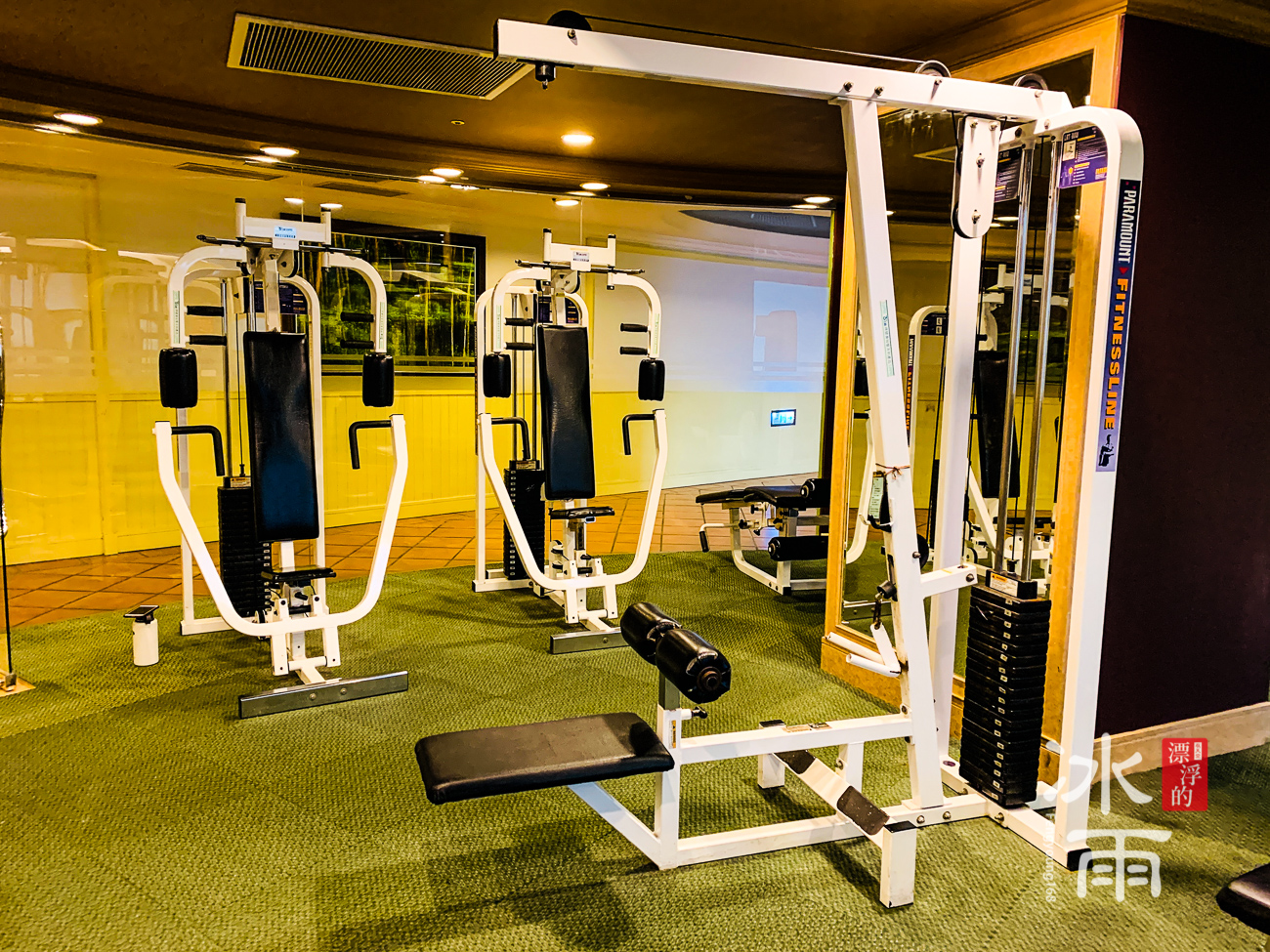 陽明山天籟渡假酒店|健身房跑步機