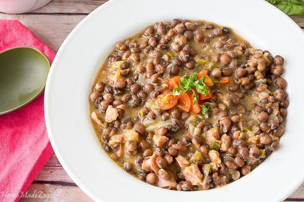 How to make stew peas (pigeon peas)