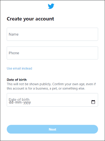 Provide your personal information