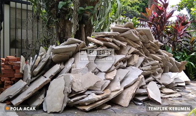 jual batu templek kebumen