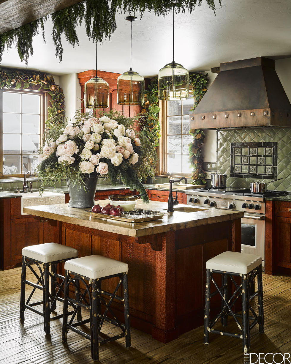 #KenFulk designed #kitchen in a Montana #skihouse in Yellowstone