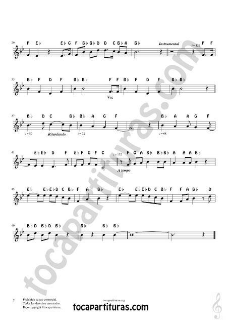 2 Argentina National Anthem Notes Sheet Music for voice version. Treble Clef instruments (Violin, Flute, Trumpet, Clarinet, Oboe, Horn, Saxophone...)