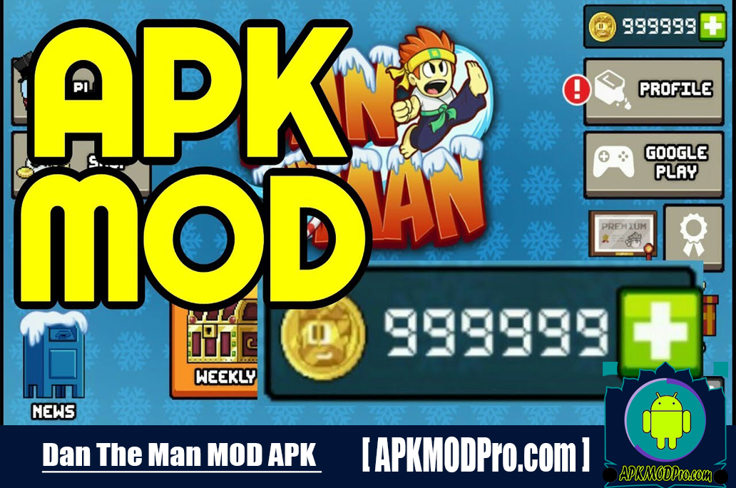 Download Dan the Man MOD APK 1.4.16 (Unlimited Money) For Android