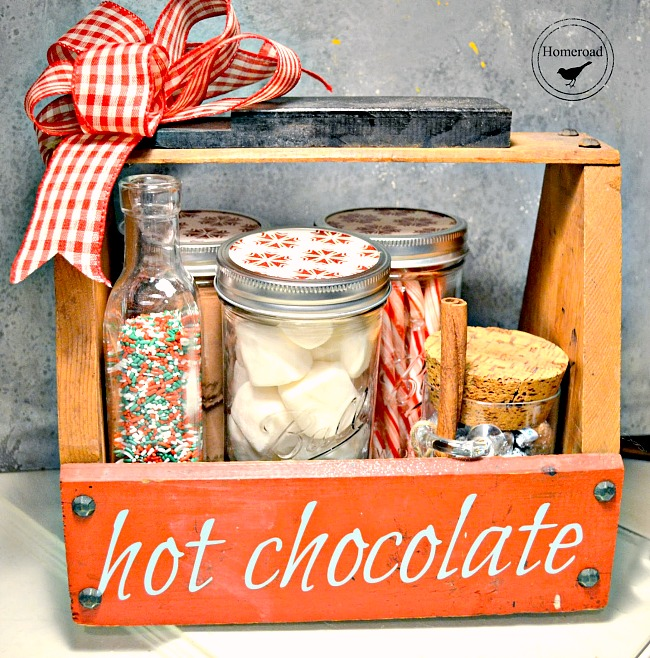 Hot Chocolate Tote - A Great Gift!
