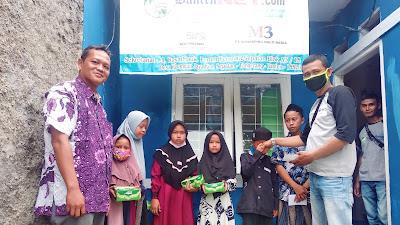 Peringati Maulid Nabi Muhamad SAW 1442 H, Media Online indcybernews.com Santuni Anak Yatim