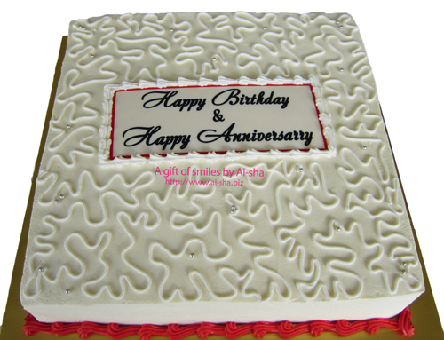 Birthday & Anniversary Cake