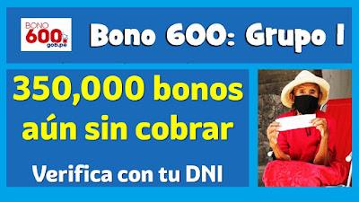 Salió LINK #Bono600 AQUÍ podrás saber quiénes accederán el #TercerBono2021