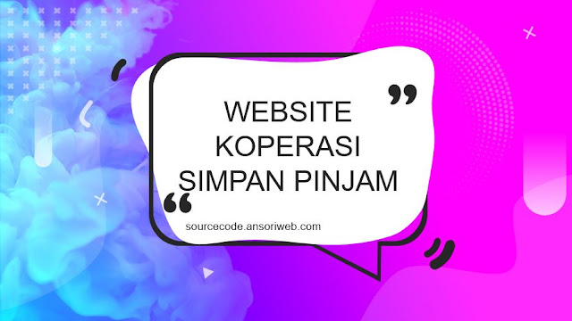 Source Code Web Koperasi Simpan Pinjam PHP MYSQL