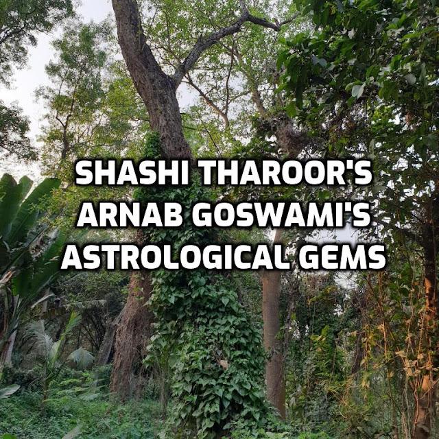 Shashi Tharoor & Arnab Goswami Wear Astrological Gems