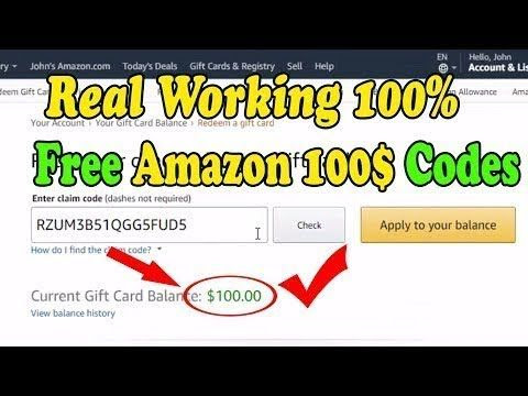 Get $10, $25, $50, $75, $100 Amazon Gift Card For Free! Working [November 2020]