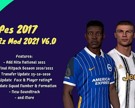 PES 2017 RZ Mods Season 2020/2021 V6 (NSP Patch)