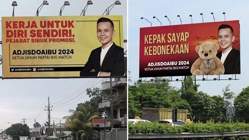 Menertawakan Baliho Elite Parpol