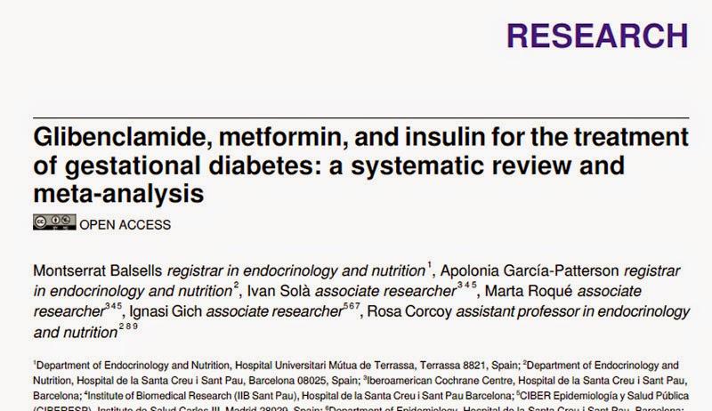 ensayo sobre diabetes tratamiento gestacional