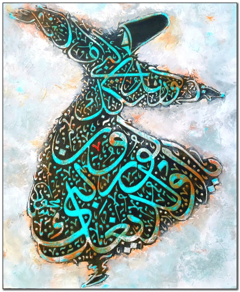 Best Arabic Calligraphy Arabic Calligraphy Stencils For Canvas