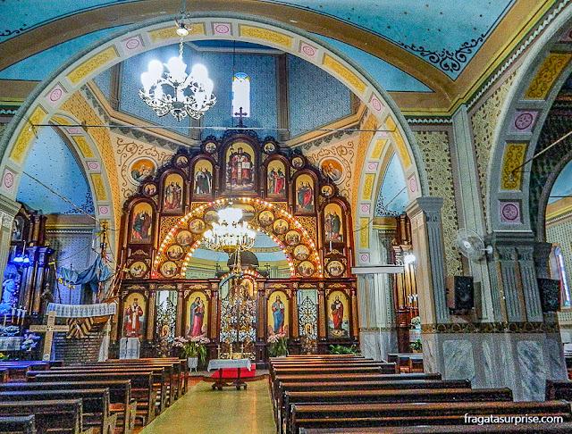 Igreja ucraniana de São Josafat, Prudentópolis, Paraná