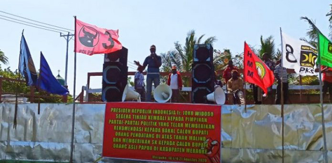 Pemuda Dan Mahasiswa Suku Marind Merasa Dipandang Sebelah Mata Oleh Jokowi