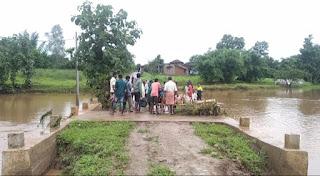 बालाघाट जिले में तेज बारिश से जनजीवन अस्त-व्यस्त