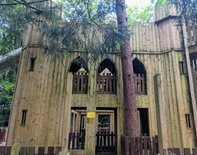 The Best Adventure Playground in the Lake District (Lowther Castle) - castle fort
