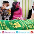 Turut Berduka Cita, Kapolres Melayat ke Rumah Duka Kabag Sumda Polres Pangkep