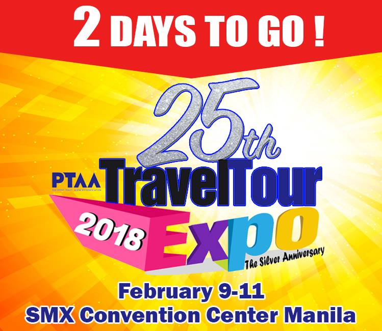 25TH PTAA TRAVEL TOUR EXPO 2018
