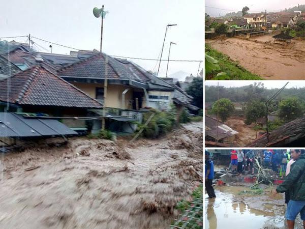 Banjir Bandang Ciwidey Rabu 3 Mei 2017